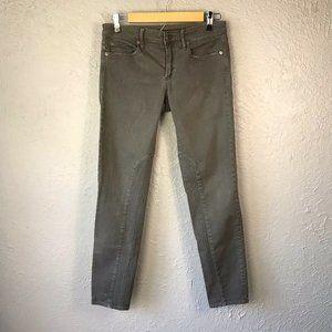 Gap Always Skinny Denim 27 Womens Gray Riding Jean